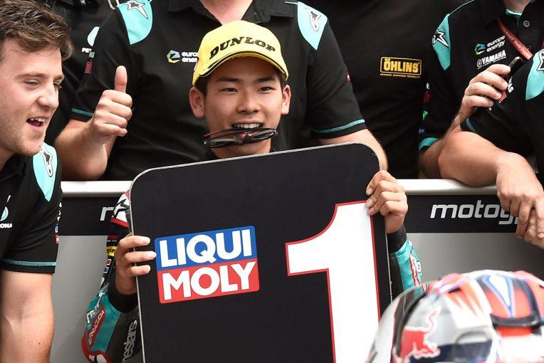 MotoGP | 18年ぶりに日本人が予選でワン・ツー。佐々木歩夢が初ポール獲得/MotoGPドイツGP Moto3