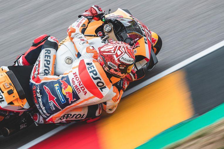 MotoGP | MotoGP:マルケスがドイツGP7年連続ポールでドゥーハンの記録に近づく。負傷の中上は逆転でQ2進出