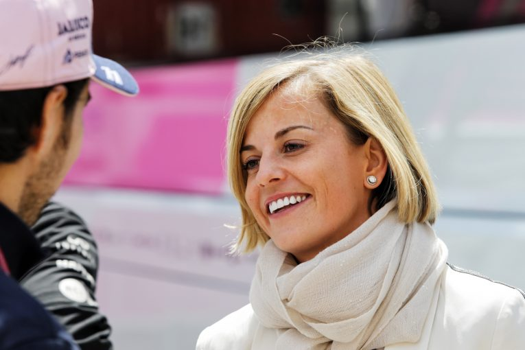 F1 | スージー・ウォルフが女性限定のWシリーズに疑問。「女性ドライバーのなかで一番になるだけでは意味がない」