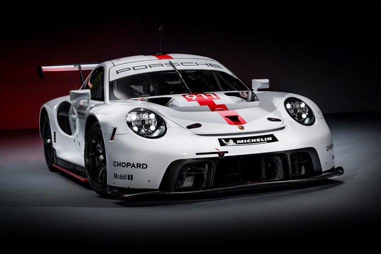 ル・マン/WEC | GTE王座防衛へのニューウェポン。ポルシェが新型911 RSRをグッドウッドで公開