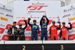 ブランパンGTワールドチャレンジ・アジア富士レース2のアマクラスの表彰台