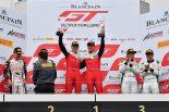 ブランパンGTワールドチャレンジ・アジア富士レース2の表彰台