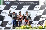 MotoGP | 独走で完全優勝のマルケス「最初から最後までリードする戦略だった」/MotoGP第9戦ドイツGP 決勝トップ3コメント