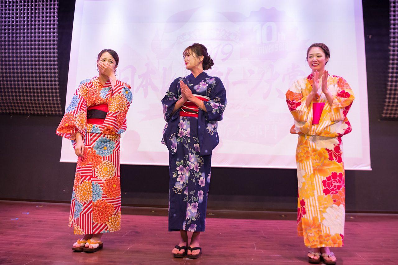 日本レースクイーン大賞2019新人部門受賞者3名が決定。高橋菜生さんがルーキークイーンに輝く