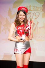 日本レースクイーン大賞2019新人部門準グランプリを受賞した澤田実架さん