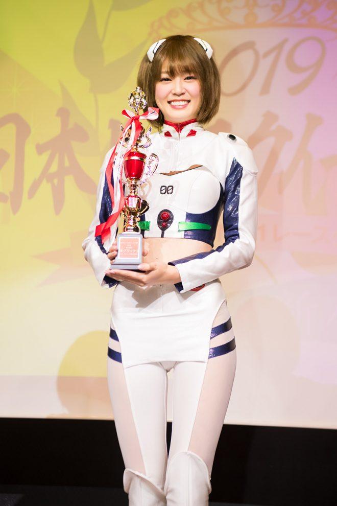 日本レースクイーン大賞2019新人部門準グランプリを受賞した橘香恋さん