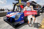 54号車ニッサンDPiをドライブしてポールポジションを獲得したコリン・ブラウン