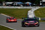 GTDクラス2位のメイヤー・シャンク・レーシングの86号車アキュラNSX GT3 Evo