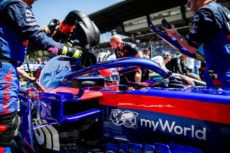 F1   F1オーストリアGPでは親チームのレッドブルと明暗。熾烈な中団争いでコンマ数秒遅れは命取り/トロロッソ・ホンダF1コラム