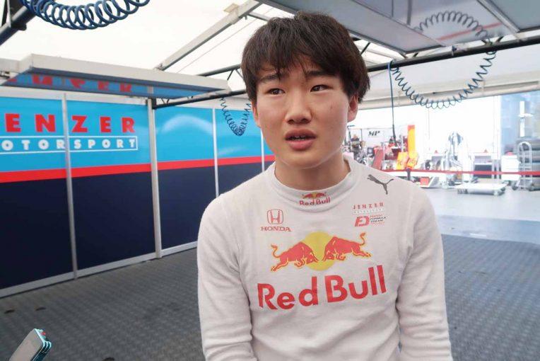 海外レース他   課題の予選に苦戦する角田「レースペースは悪くないが、ベースの部分が遅すぎる」/FIA-F3オーストリア