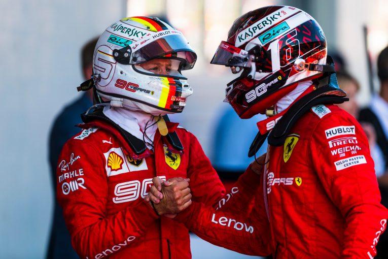 F1 | ルクレール、ベッテルのF1引退の噂に対し「彼のモチベーションはこれまでになく高い」と反論