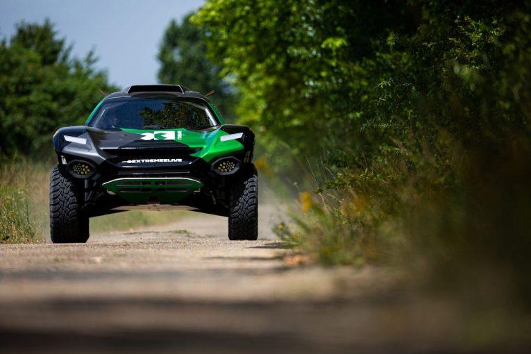 ラリー/WRC | 2021年1月開幕予定のEVオフロード戦『エクストリームE』用マシン公開。初年度には12台参戦へ