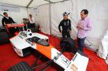 F1 | グッドウッドでホンダF1田辺TDと再開を果たした佐藤琢磨「直接おめでとうを言えてうれしかった」