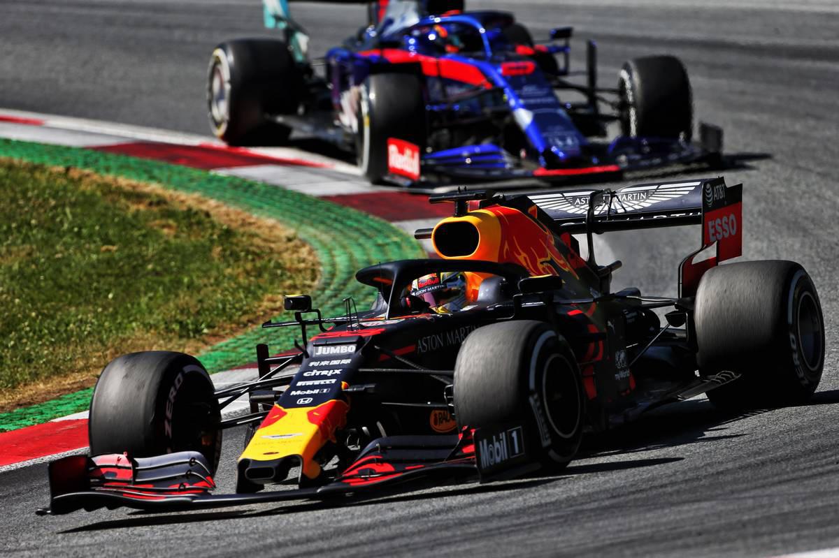 2019年F1第9戦オーストリアGP マックス・フェルスタッペン(レッドブル・ホンダ)