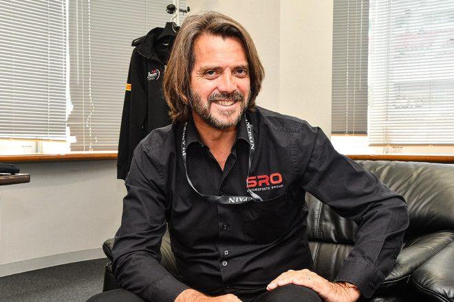 SROモータースポーツ・グループ代表のステファン・ラテル。富士スピードウェイで30分以上ものインタビューに応えてくれた。