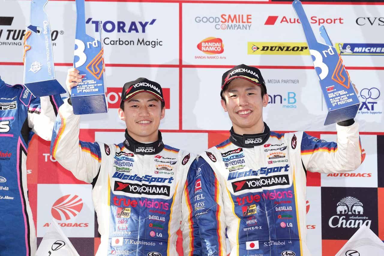 LEXUS TEAM WedsSport BANDOH 2019スーパーGT第4戦タイ レースレポート