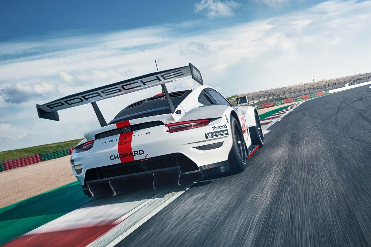 WEC:新型911 RSRを発表したポルシェ、2019年型開発にあたってはターボ化も検討