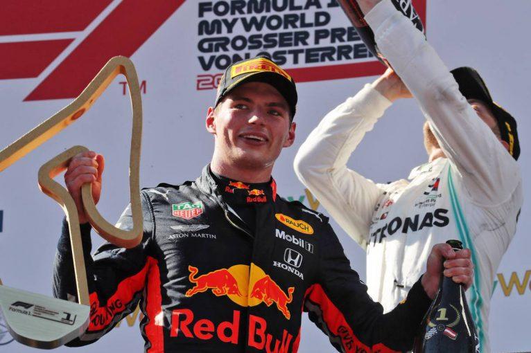 F1   レッドブル・ホンダF1のフェルスタッペン「2020年は毎戦表彰台に上ることを目指す」