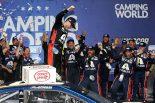 海外レース他 | NASCAR第17戦:134戦目に挑んだシボレーのボウマンが悲願の初優勝