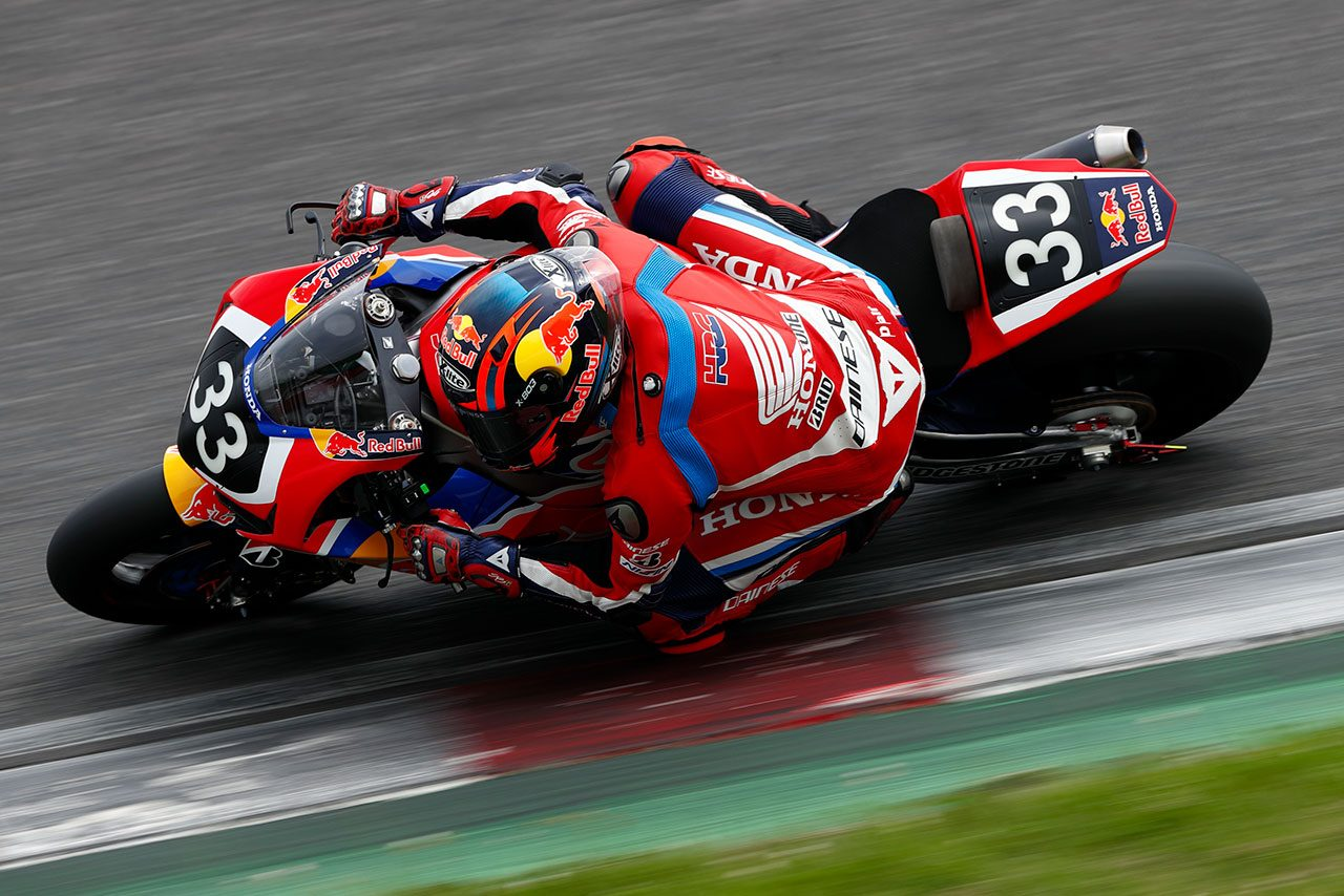 ステファン・ブラドル(Red Bull Honda)
