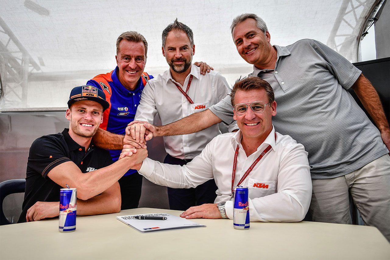 KTMと2020年の契約を交わしたブラッド・ビンダー