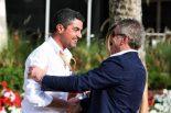 2019年F1第2戦バーレーンGP マイケル・マシ(FIAレースディレクター/左)、マーティン・ドネリー(右)