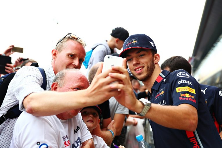 F1   レッドブル・ホンダF1のガスリー「不本意なレースの後、あらゆる部分を見直した。イギリスGPでは好結果を出したい」