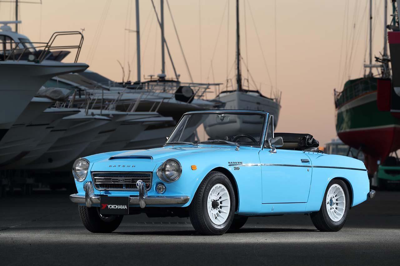 横浜ゴム、2種類のヒストリックカー向けタイヤを国内新発売
