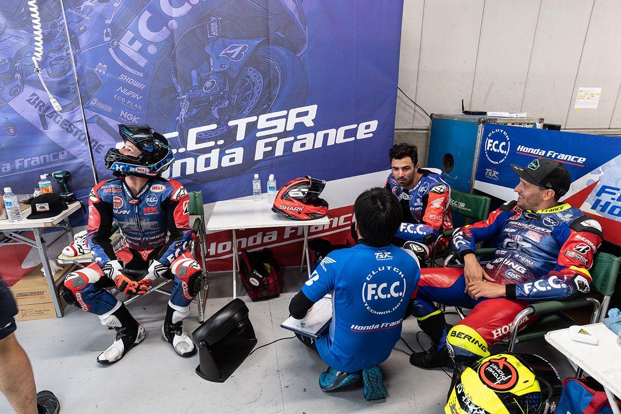 逆転チャンピオンに挑むF.C.C.TSRホンダ・フランス