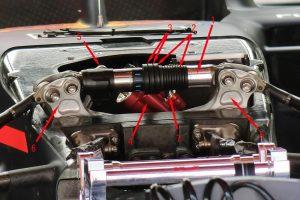 F1 | レッドブル・ホンダRB15のフロントサスペンション