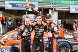 Gドライブ・レーシングからWECにデビューしたヨブ・バン・ウィタート(中央)