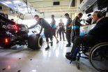 2019年F1第10戦イギリスGP フランク・ウイリアムズ代表もチームを見守る