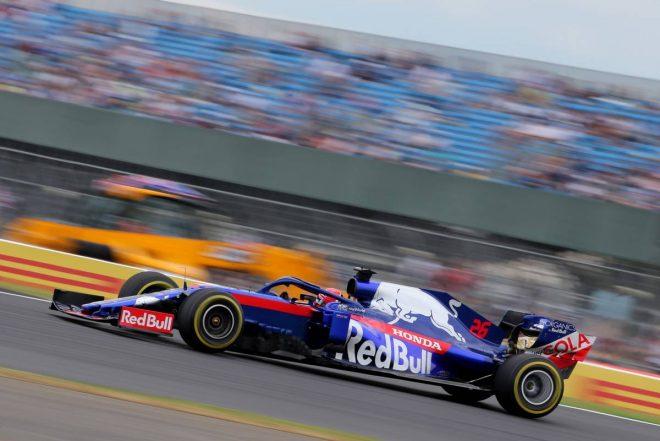 2019年F1第10戦イギリスGP FP2で11番手となったダニール・クビアト(トロロッソ・ホンダ)