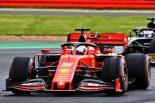 2019年F1第10戦イギリスGP セバスチャン・ベッテル(フェラーリ)