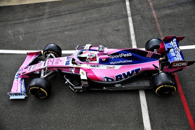2019年F1第10戦イギリスGP セルジオ・ペレス(レーシングポイント)