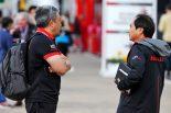2019年F1第10戦イギリスGP ホンダ山本雅史マネージングディレクター、田辺豊治テクニカルディレクター