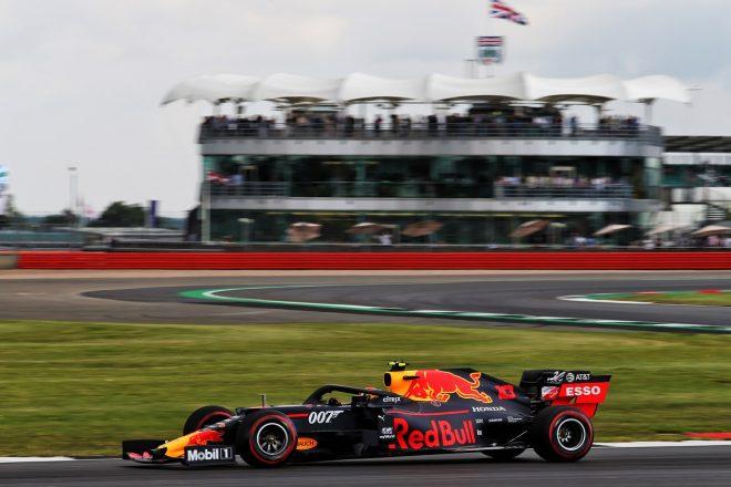 2019年F1第10戦イギリスGP ピエール・ガスリー(レッドブル・ホンダ)が金曜FP1でトップタイム