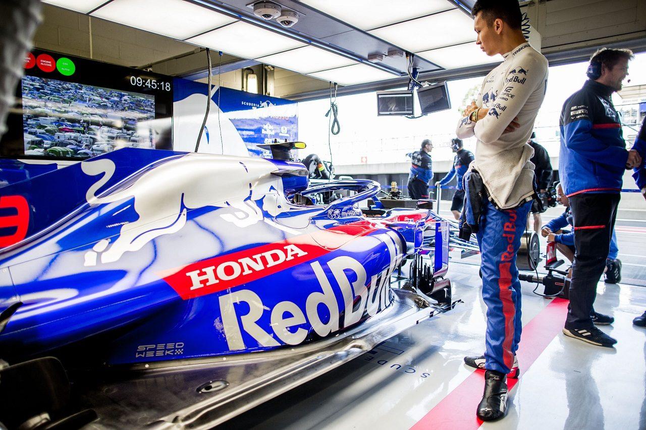 2019年F1第10戦イギリスGP金曜 アレクサンダー・アルボン(トロロッソ・ホンダ)