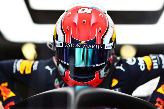 2019年F1第10戦イギリスGP FP1でトップタイムのピエール・ガスリー(レッドブル・ホンダ)