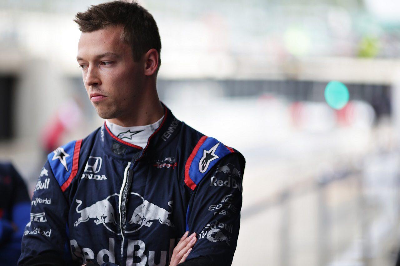 2019年F1第10戦イギリスGP トロロッソ・ホンダのダニール・クビアト