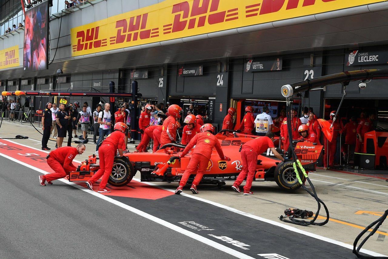 2019年F1第10戦イギリスGP金曜 シャルル・ルクレール(フェラーリ)