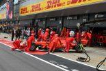 F1 | フェラーリのレースペースはメルセデスより0.7秒遅い?「タイヤが持たず苦しんでいる」とルクレール:F1イギリスGP