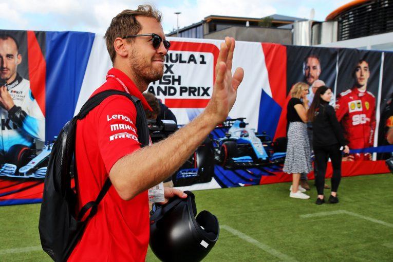 F1 | ベッテル「金曜のタイムに意味はない。ベストのセットアップを選ぶためテストに集中した」:フェラーリ F1イギリスGP