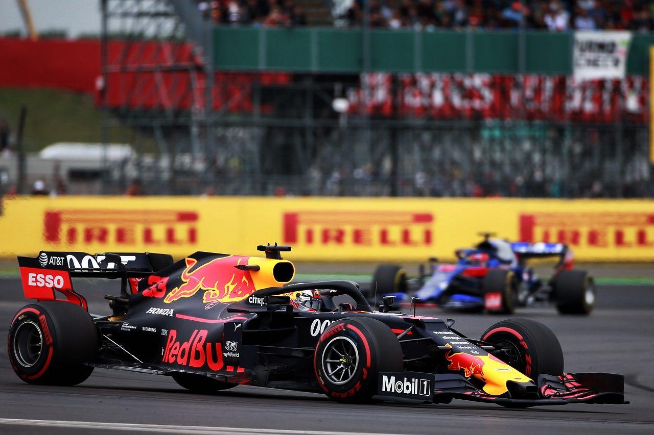 2019年F1第10戦イギリスGP土曜 マックス・フェルスタッペン(レッドブル・ホンダ)