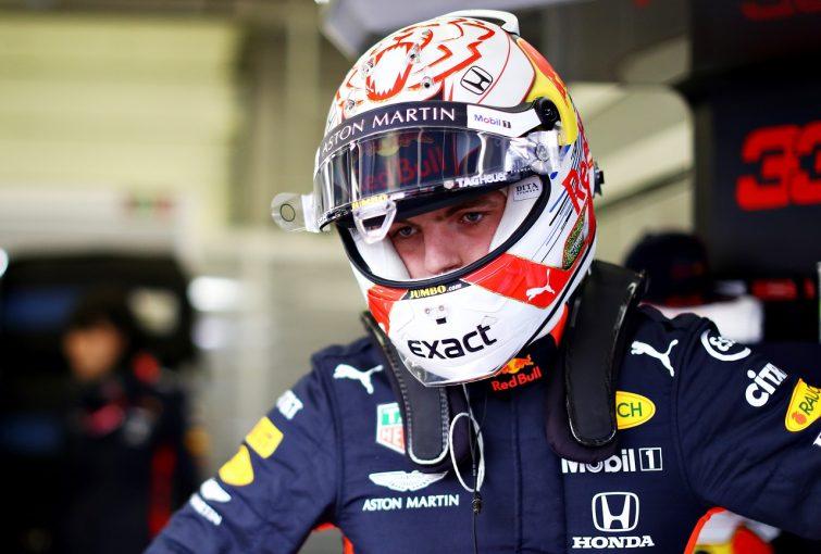 F1 | フェルスタッペン、PPから0.2秒差に複雑な心境「ラグの問題がなければ首位を狙えた」レッドブル・ホンダ F1イギリスGP