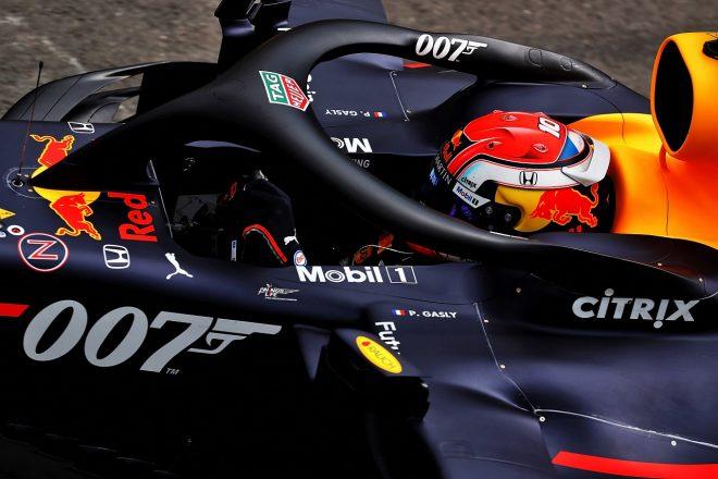 2019年F1第10戦イギリスGP ピエール・ガスリーが乗るレッドブルRB15・ホンダ