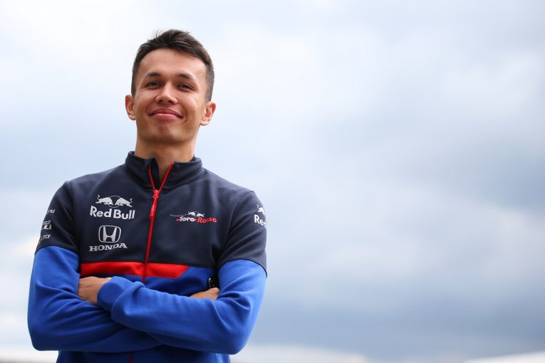F1 | アルボン、自己最高位の予選9番手「苦労してきただけにうれしい」トロロッソ・ホンダ F1イギリスGP