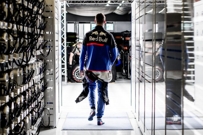 2019年F1第10戦イギリスGP ダニール・クビアト(トロロッソ・ホンダ)は予選でQ1敗退という結果に終わった