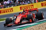 F1   2019年F1第10戦イギリスGP土曜 フェラーリのシャルル・ルクレール