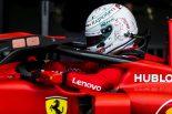 F1 | 2019年F1第10戦イギリスGP土曜 セバスチャン・ベッテル(フェラーリ)